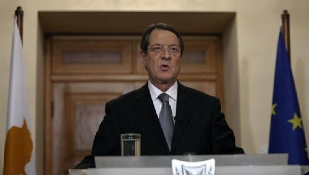 El presidente de Chipre