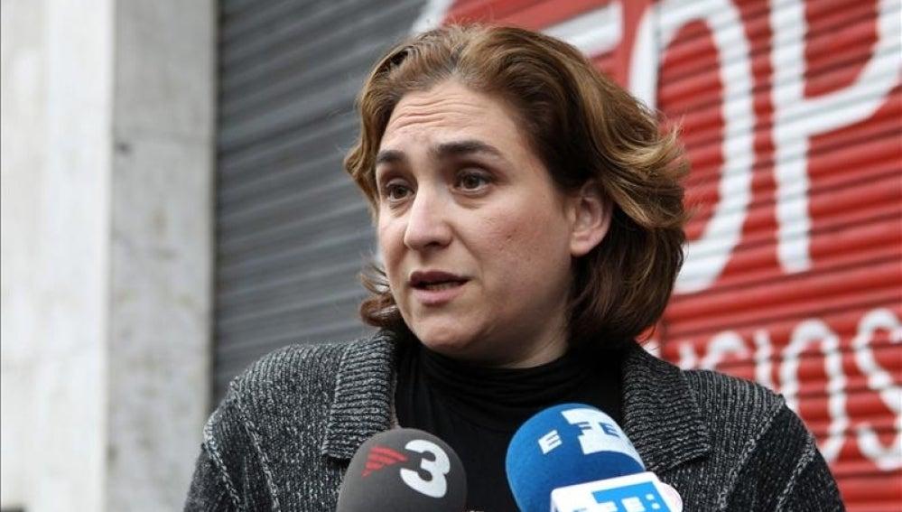 Ada Colau, portavoz de la PAH