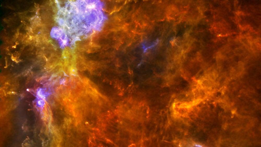 La nube molecular W3