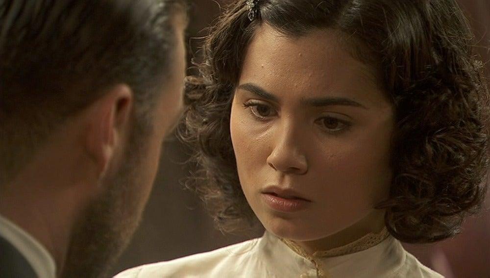 María se entera de que Francisca ha cambiado su testamento