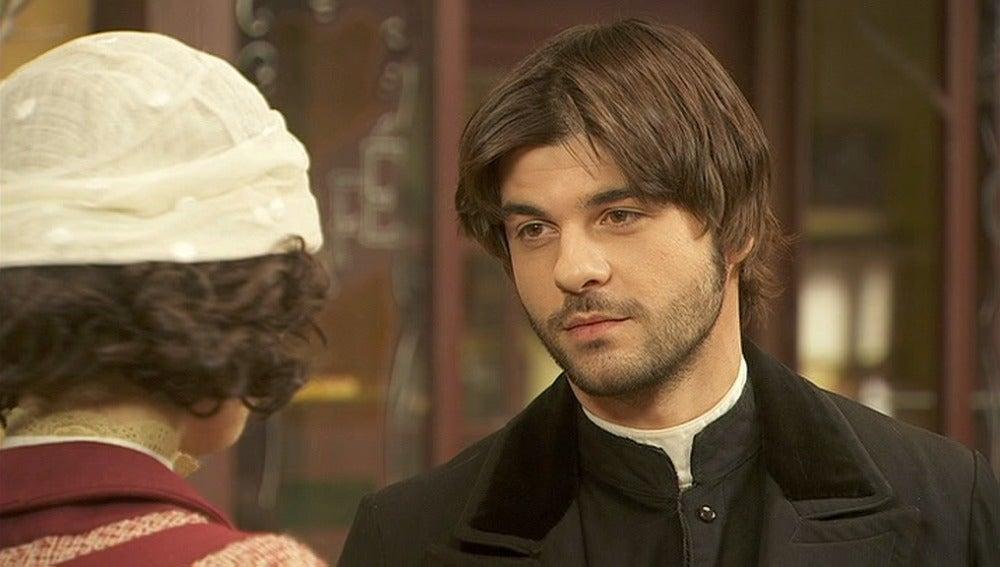 Gonzalo se preocupa por la salud de María