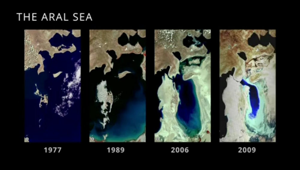 Imágenes del satélite Landsat