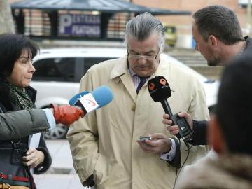 Luis Bárcenas sale del juzgado
