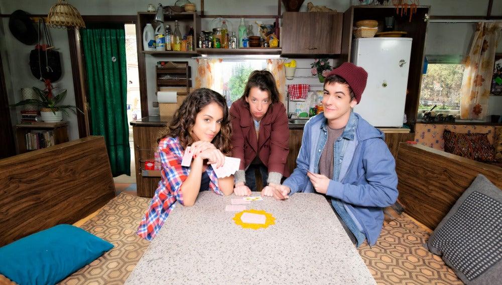 Candela, Lola y Dani