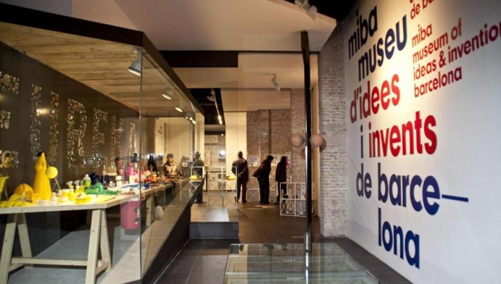 Entrada al Museo de Ideas e Inventos de Barcelona