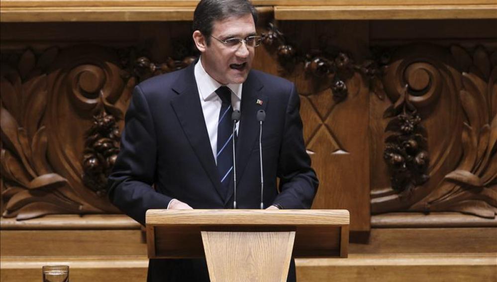 El primer ministro luso, Pedro Passos Coelho