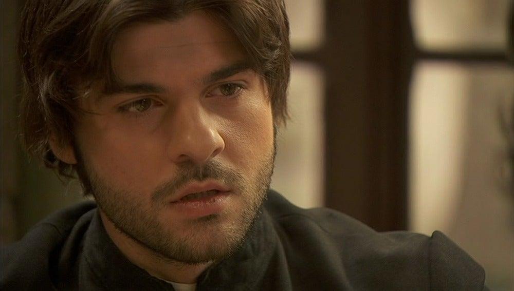 Gonzalo confiesa a María los motivos que le ha dado Fernando sobre sus moratones