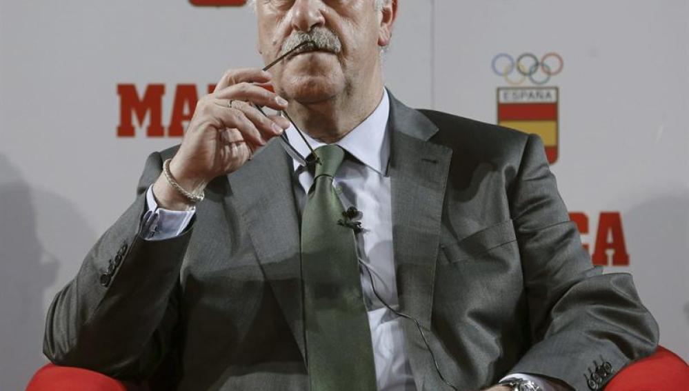 Vicente del Bosque, durante el Foro 'Camino a 2020'
