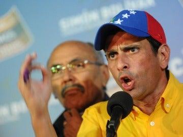 Capriles tras conocer los resultados electorales