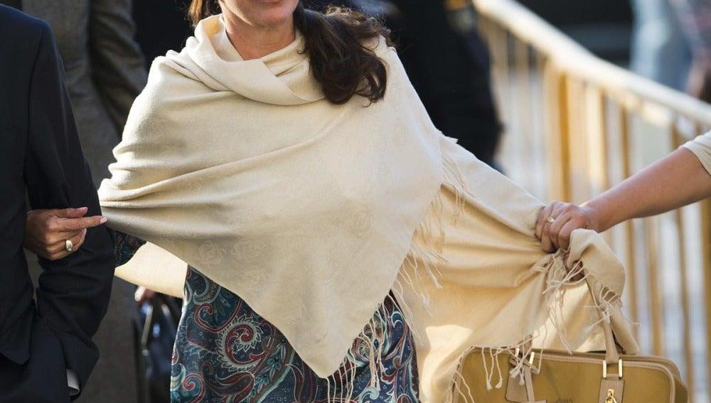 Isabel Pantoja tras conocer la sentencia