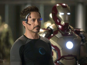 Robert Downey Jr en la tercera entrega de Iron Man