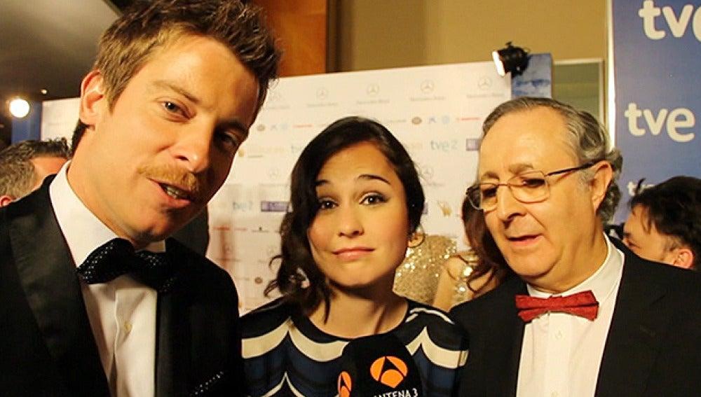 Manu, Nadia y José Antonio Sayagués