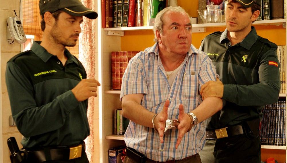 La Guardia Civil arresta a Paulino