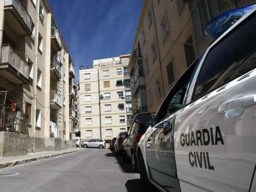 Efectivos de la Guardia Civil en Huelva