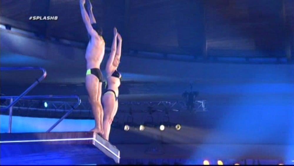 Splash 8 | El salto de Canales y Daniela Blume