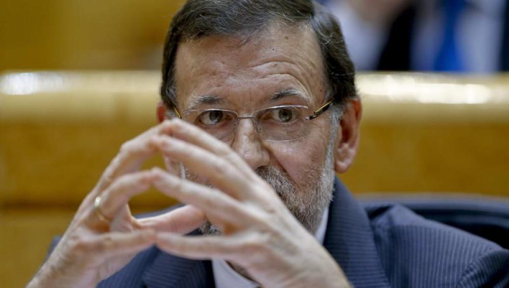 Mariano Rajoy, en el Senado