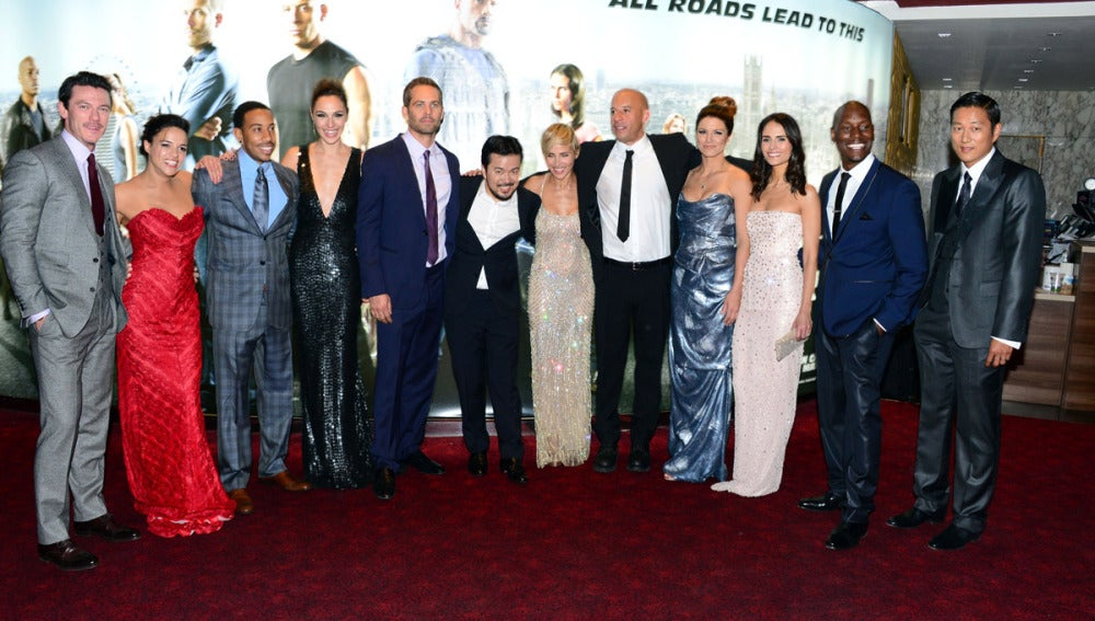 El reparto al completo de 'Fast and Furious 6'
