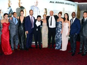 El reparto al completo de 'Fast and Furious 6'