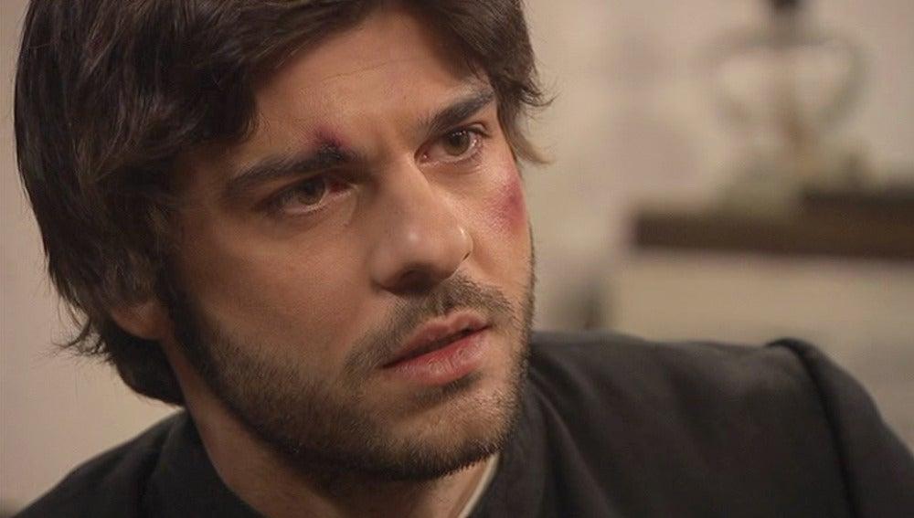 Gonzalo le propone a María huir juntos
