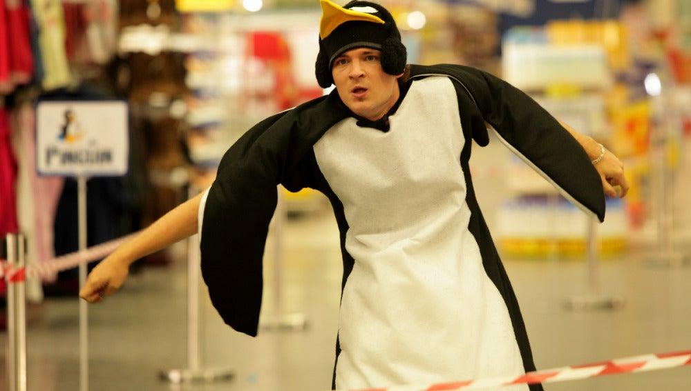 Javi de pingüino