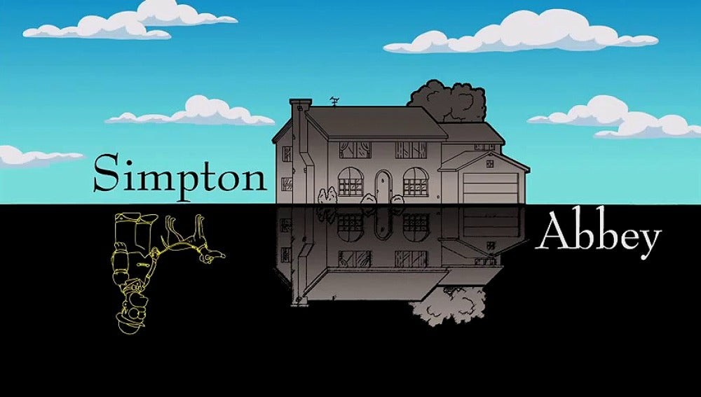 Los Simpson homenajean a Downton Abbey