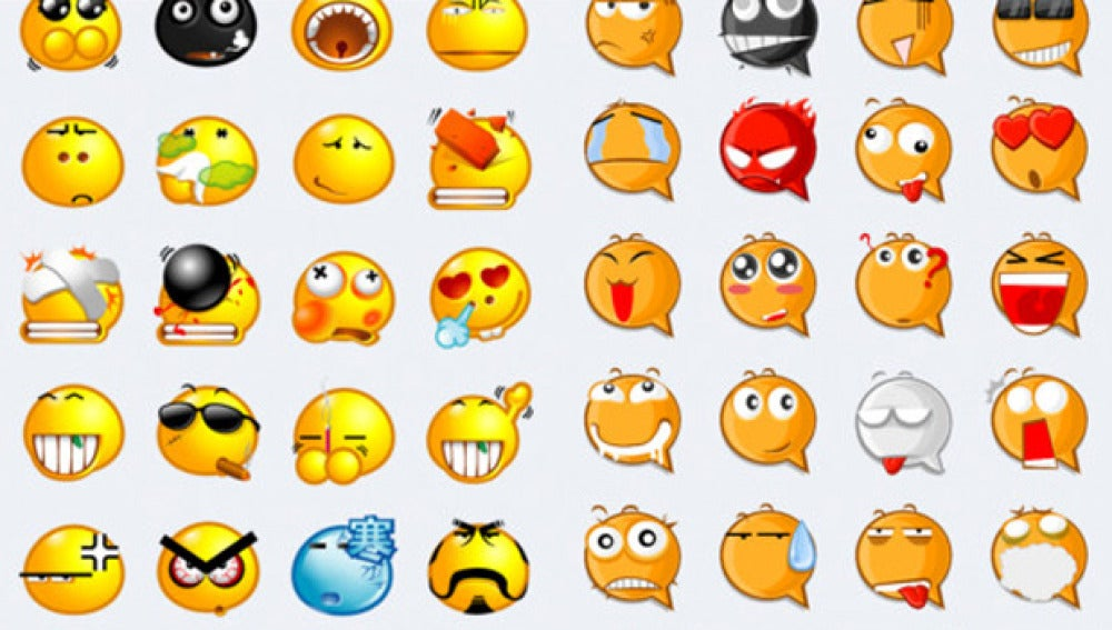 Algunos de los emoticonos que ofrece la app Stickers For WhatsApp Messenger