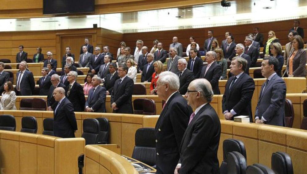 Sesión de control en el Senado