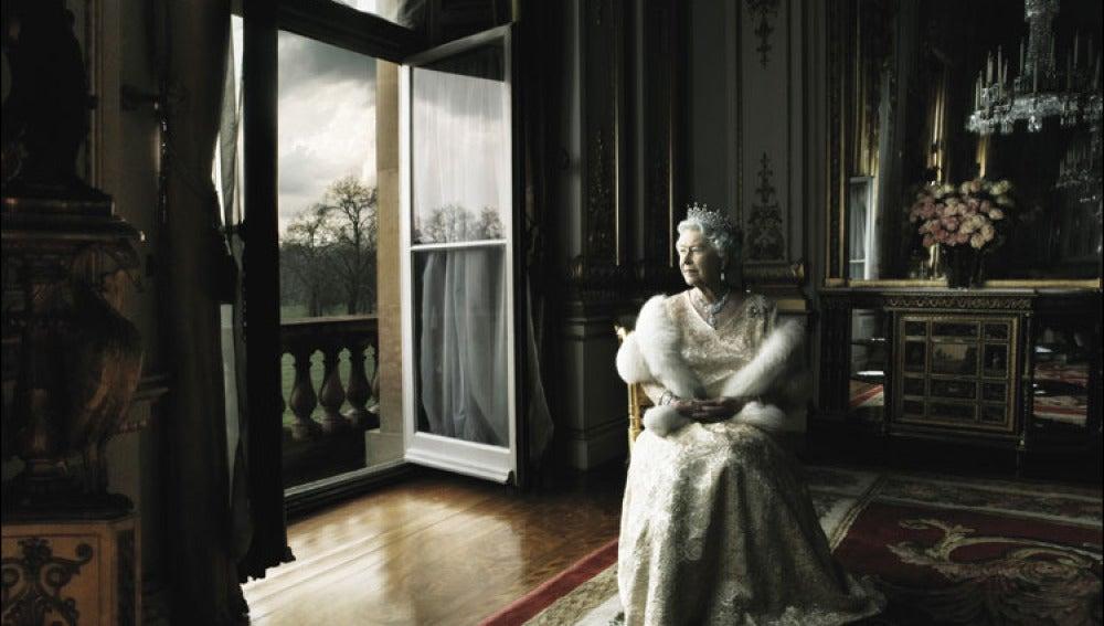 La reina Isabel II, por Annie Leibovitz