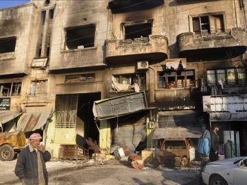 Siria lanza un ataque