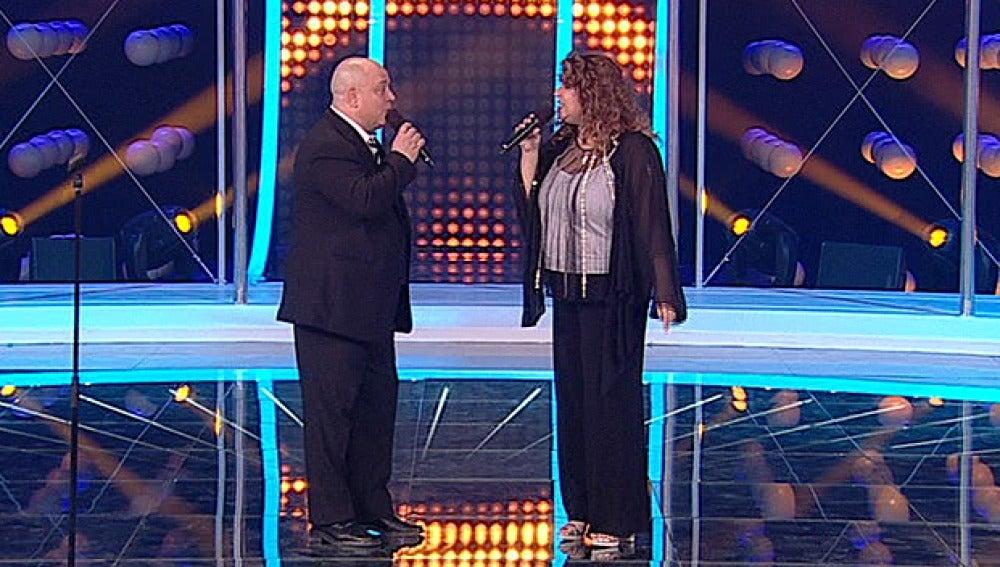 Jose Truchado e Irene Risolía