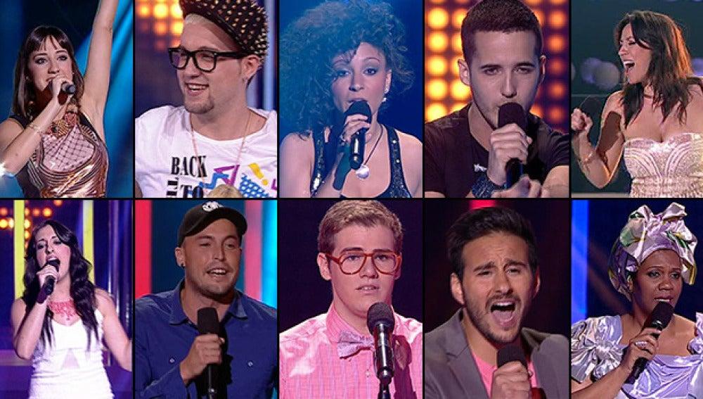 Los 10 concursantes de El Número Uno