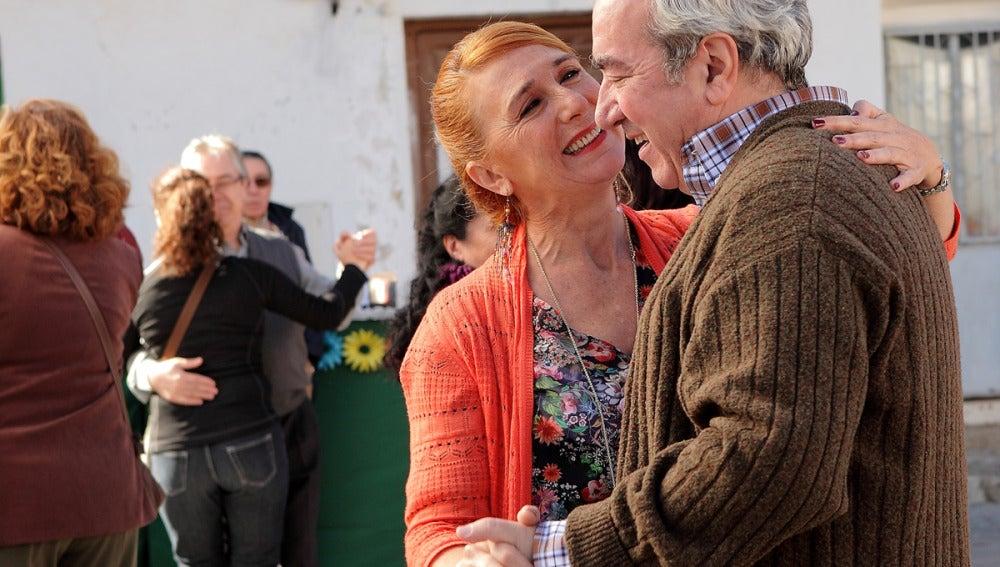 Paulino y su mujer