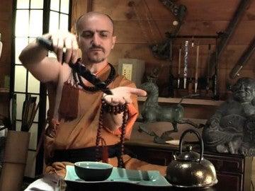 Juan Carlos Aguilar, el falso monje shaolin