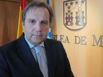 El portavoz de Economía del PSOE en la Asamblea de Madrid, Antonio Miguel Carmona