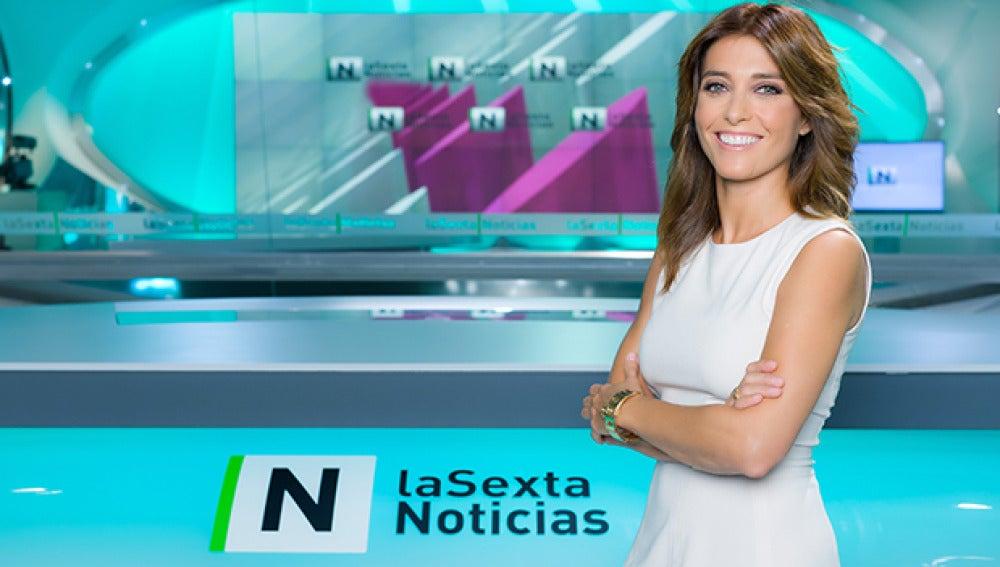 Helena Resano, presentadora de informativos de laSexta