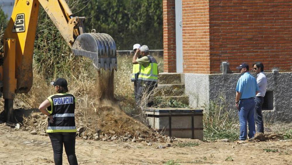 Labores de búsqueda del cuerpo de Marta del Castillo en la finca Majaloba de La Rinconada