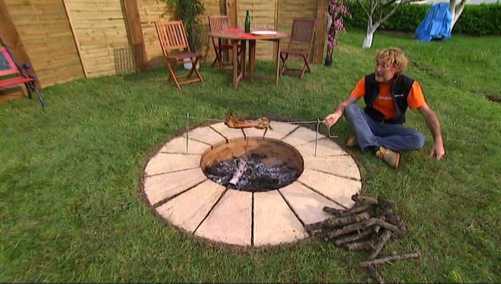Barbacoa circular en Bricomanía