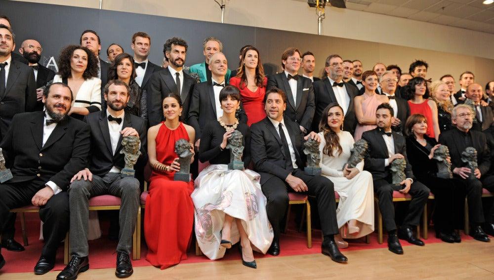 Todos los ganadores de los Goya 2013