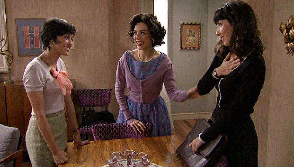 Inés, Macarena, Alicia