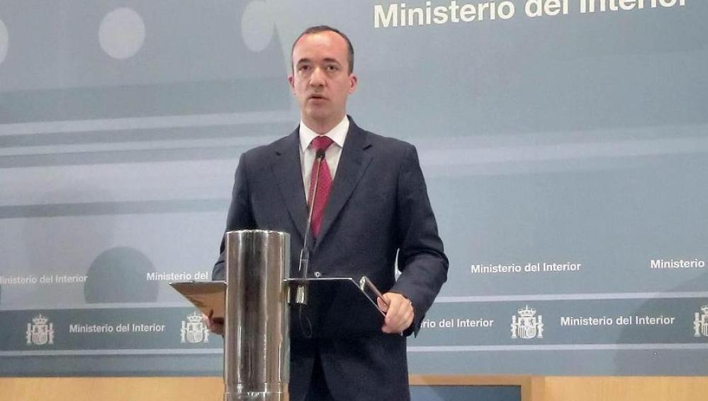 El secretario de Estado de Seguridad,Francisco Martínez