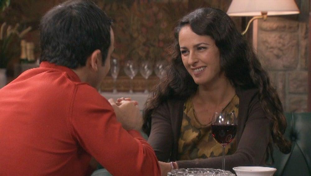 Roberta y Tomás se reconcilian