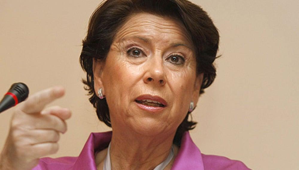Magdalena Álvarez, exministra