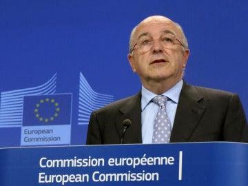 Joaquín Almunia, vicepresidente de la Comisión