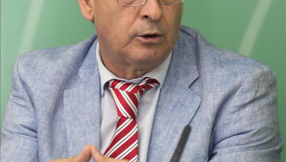 El vicepresidente de la Junta de Andalucía y consejero de Administración Local y Relaciones Institucionales, Diego Valderas