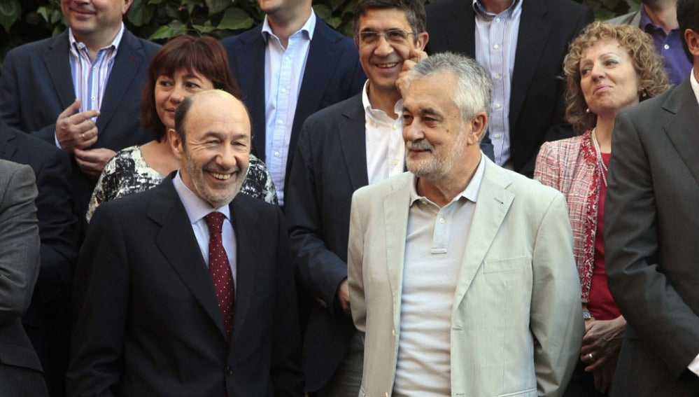 Alfredo Pérez Rubalcaba, líder de los socialistas