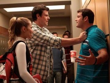 Quinn y Finn 'destronados' en Glee