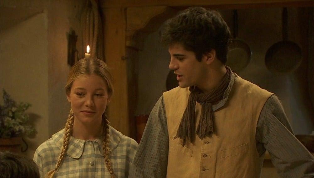 Emilia y Alfonso ponen el dinero que falta de la colecta