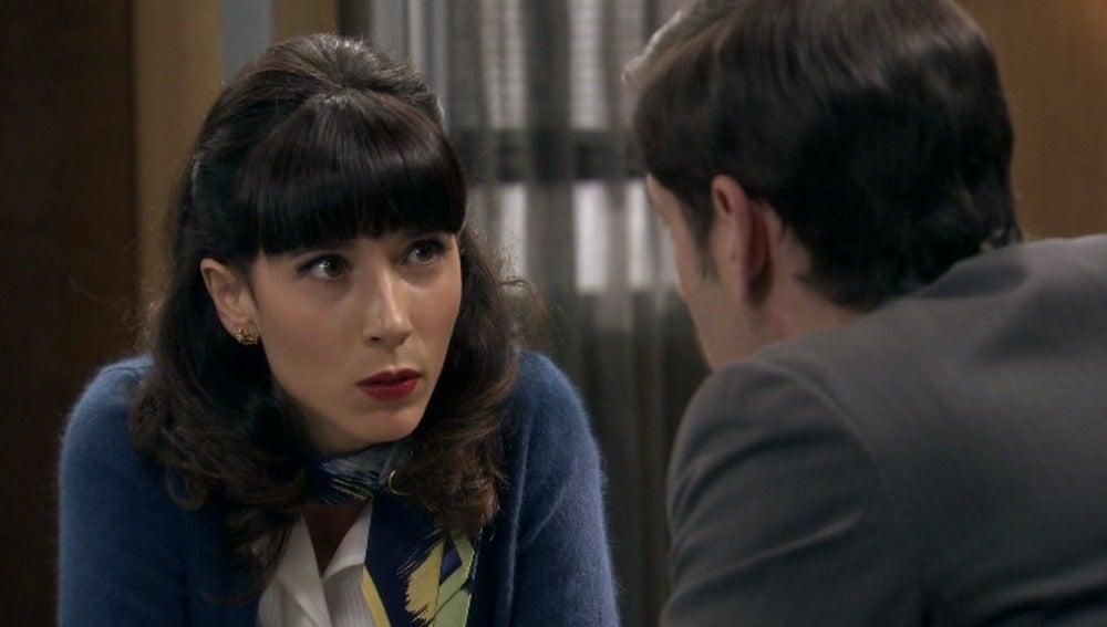 Inés confiesa haber quemado los documentos