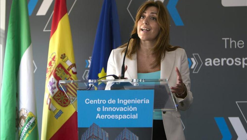 La consejera de la Presidencia e Igualdad, Susana Díaz
