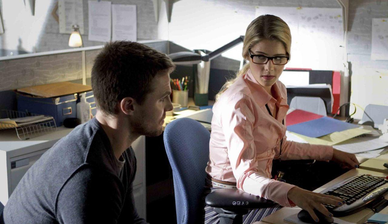 Oliver Queen y Felicity Smoak
